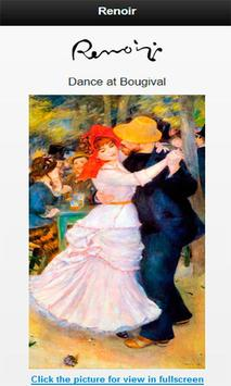 Famous paintings Renoir artist screenshot 6