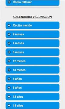 Vacunas Infantiles apk screenshot