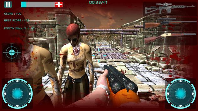 Sniper Zombie Killer M Guns 3D poster
