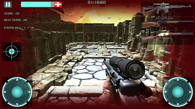 Sniper Zombie Killer M Guns 3D apk screenshot