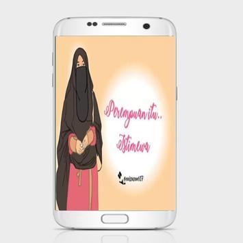 DP Kartun Muslimah Motivasi Hijrah apk screenshot
