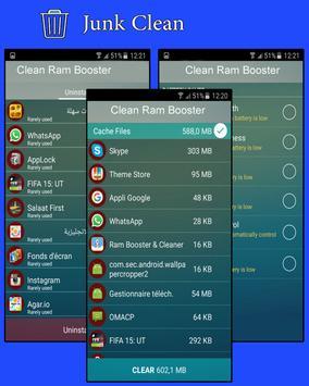 Clean Ram Booster apk screenshot