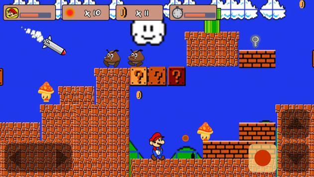 Classic Mario World poster