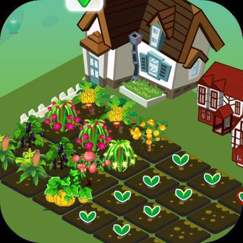 เกมส์ปลูกผักฟาร์มดอกไม้ screenshot 6