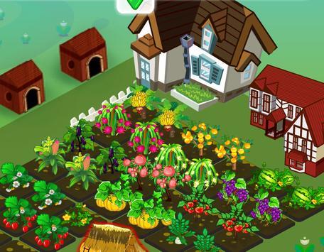 เกมส์ปลูกผักฟาร์มดอกไม้ screenshot 8
