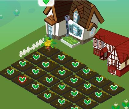 เกมส์ปลูกผักฟาร์มดอกไม้ screenshot 1