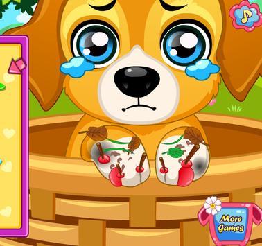 เกมส์หมอรักษาหมา screenshot 1