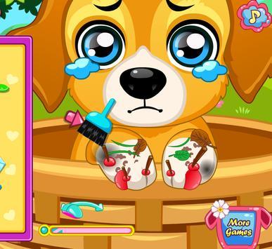 เกมส์หมอรักษาหมา screenshot 2