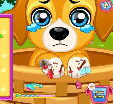 เกมส์หมอรักษาหมา screenshot 7