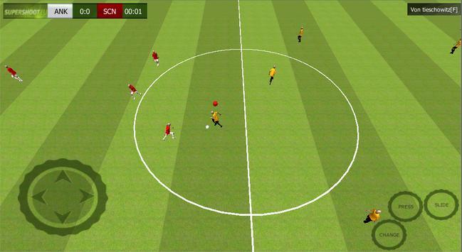Football Player SuperShoot.eu apk screenshot