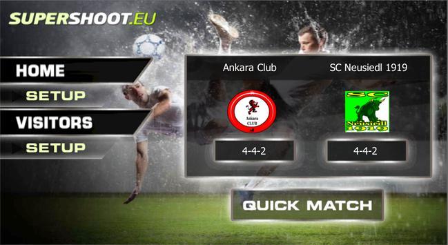 Football Player SuperShoot.eu poster