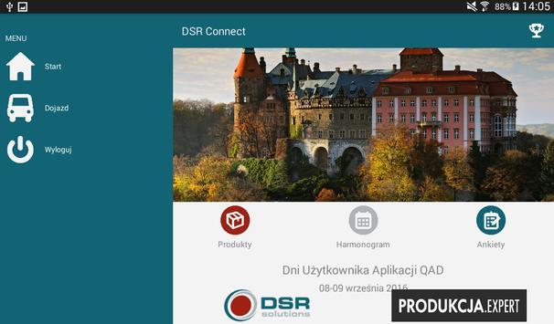 DSR Connect screenshot 2