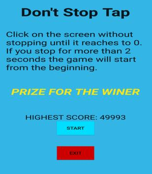 Don't Stop Tap apk screenshot