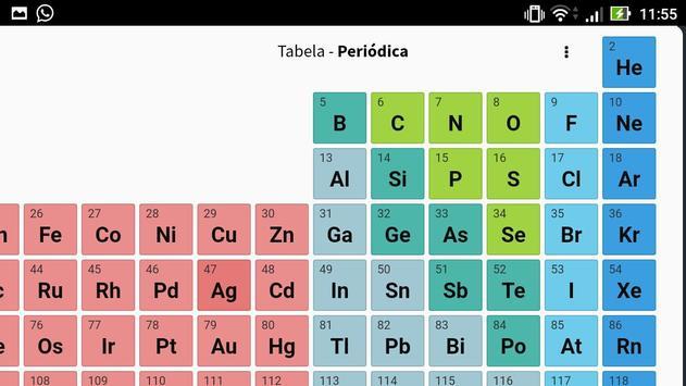 Tabela Periódica screenshot 1