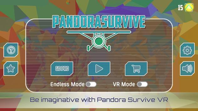 VR Pandora Survive Space Race poster