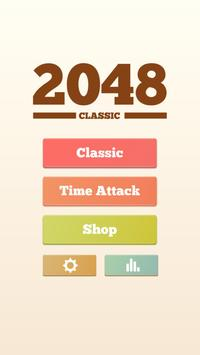 2048 Classic Puzzle Free poster