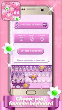Cute Pets Keyboard Themes apk screenshot