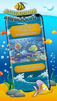 Aquarium Keyboard Themes - Fish Tank Background screenshot 1