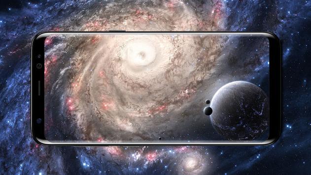 Galaxy Live Wallpapers - Parallax Background screenshot 5