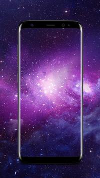 Galaxy Live Wallpapers - Parallax Background screenshot 1