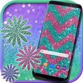 Glitter Live Wallpapers: Sparkle Background Themes icon
