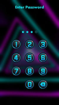 Neon Lock Screen poster