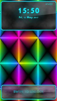 Neon Lock Screen apk screenshot