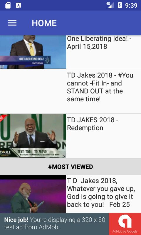 T D  Jakes Sermons for Android - APK Download