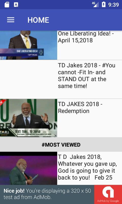 td jakes sermon download
