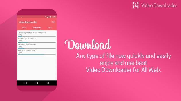 All Video Downloader App apk screenshot