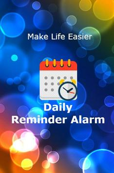 Daily Task Reminder poster
