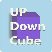 Up Down Cube icon