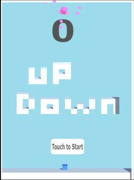 Up Down Cube poster