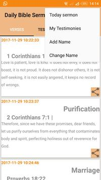 DailyBibleSermon apk screenshot