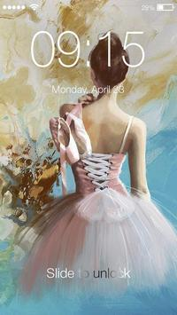 Ballet ART PIN Screen Lock poster