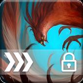Phoenix Bird Screen Lock icon