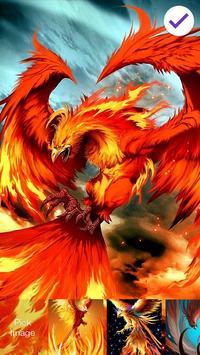 Phoenix Bird Screen Lock screenshot 2