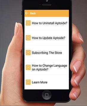 New Aptoide Guide apk screenshot
