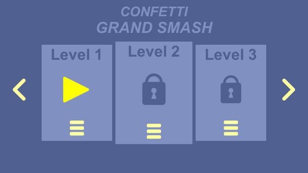 Confetti Grand Smash screenshot 1