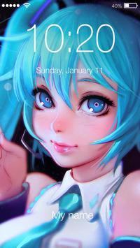 Download Anime Girls Hatsune Miku Wallpaper Screen Lock Apk For Android Latest Version