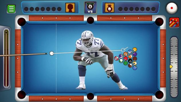 Billiards Dallas Cowboys theme screenshot 1