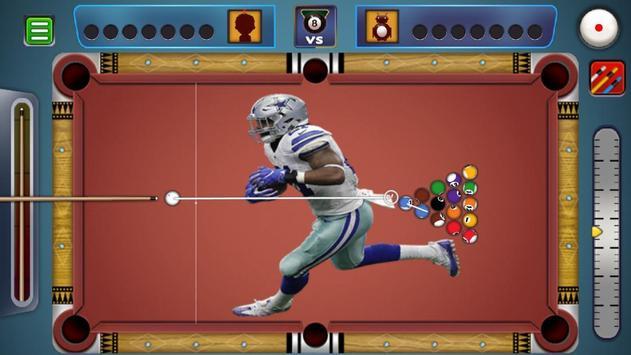 Billiards Dallas Cowboys theme screenshot 2
