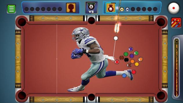 Billiards Dallas Cowboys theme screenshot 3