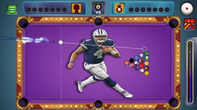 Billiards Dallas Cowboys theme screenshot 5