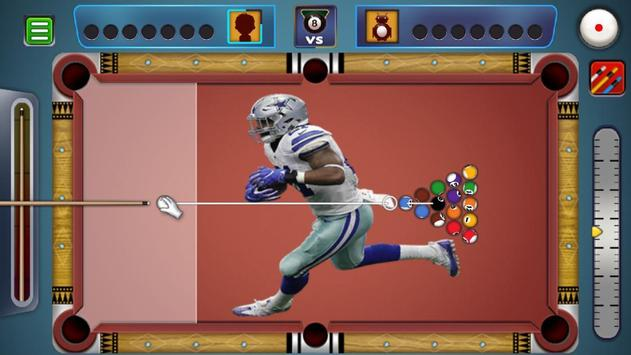 Billiards Dallas Cowboys theme screenshot 6