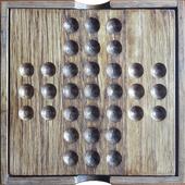 Solitaire checkers icon