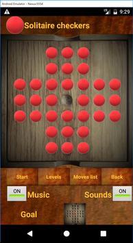 Solitaire checkers screenshot 4