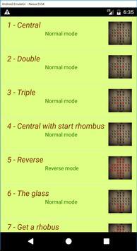 Solitaire checkers screenshot 2