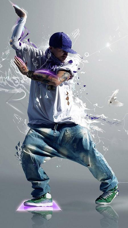 Dance Live Wallpaper Cool Hip Hop Backgrounds Poster