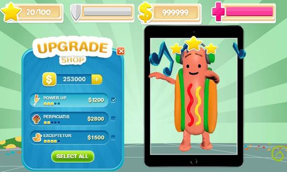 Dancing Hot-Dog adventure apk screenshot